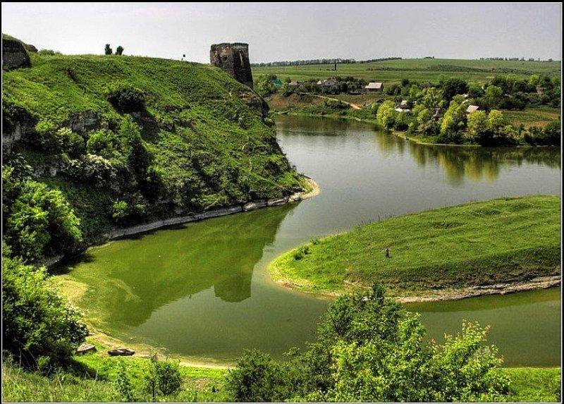 Вид на Жванецький замок фото: SAHKA1