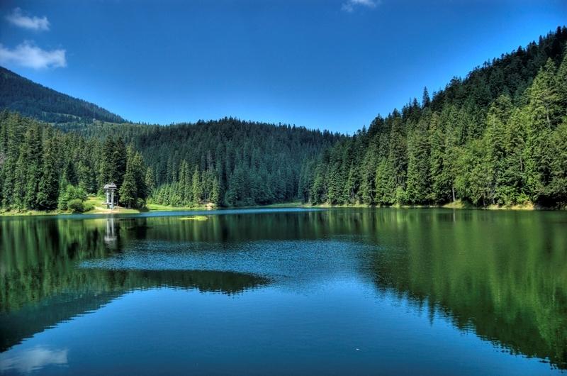 Синевир - сказочное озеро украинских Карпат-3
