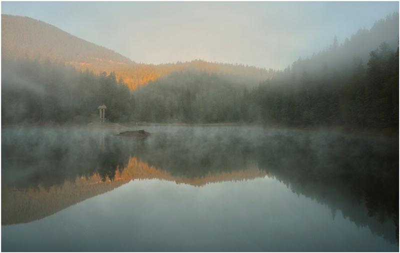 Ранковий туман фото: Aeromast