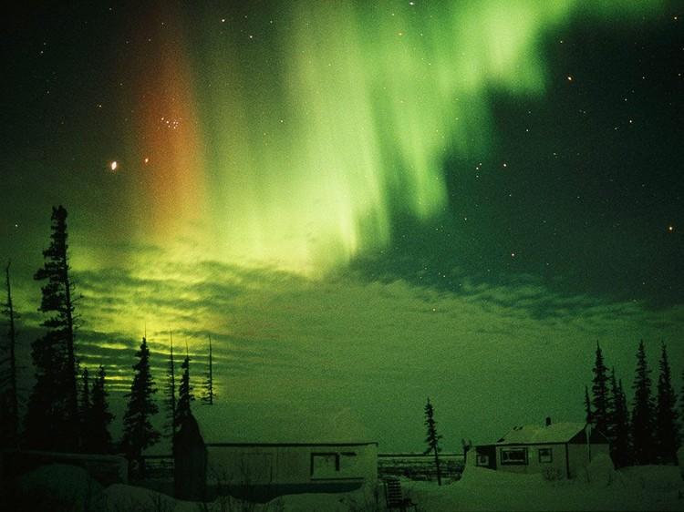 Дивовижні вогні у небі: найкращі фотографій північного сяйва (8)