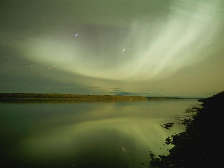Дивовижні вогні у небі: найкращі фотографій північного сяйва (7)
