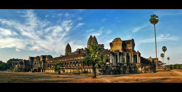 Ангкор Ват у Камбоджі - містичне та дивовижне по своїй атмосфері і масштабності місце (24)