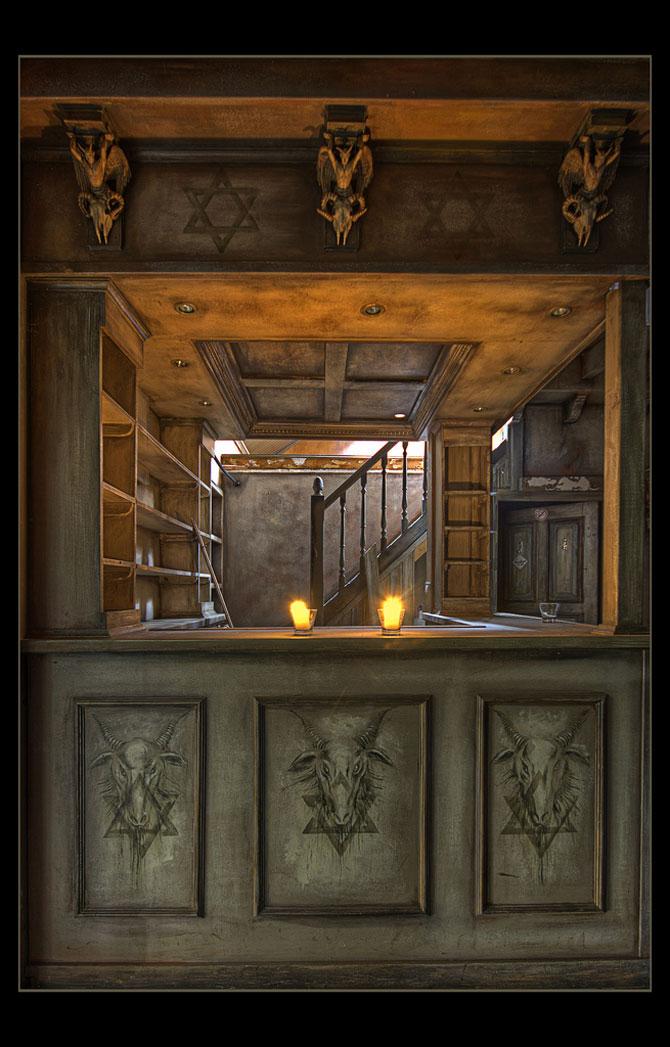 Будинок 1000 духів - пекельний ресторан, що наводить жах (37)