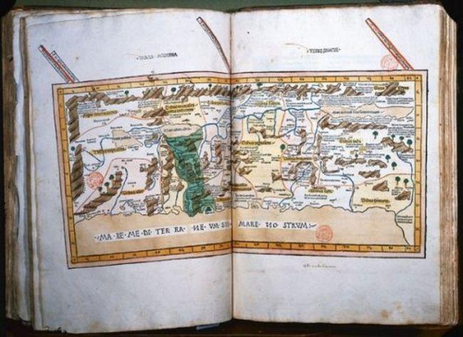Найдорожчі книги світу («Географія» («Космографія»), Птолемей (Ptolemys «Geographia» (aka «Cosmographia»)) (9)