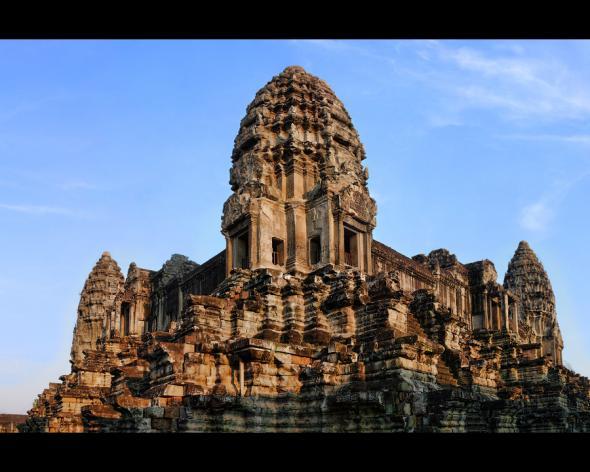 Ангкор Ват у Камбоджі - містичне та дивовижне по своїй атмосфері і масштабності місце (22)