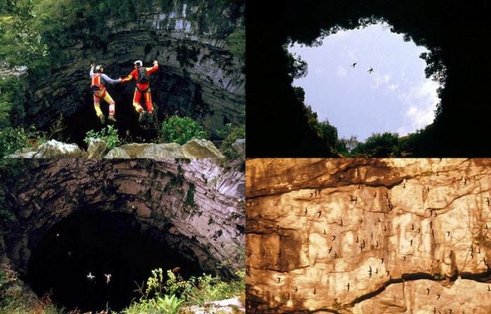 Печера ластівок - дивовижне творіння природи (2)