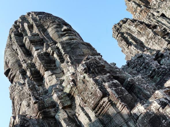 Ангкор Ват у Камбоджі - містичне та дивовижне по своїй атмосфері і масштабності місце (18)