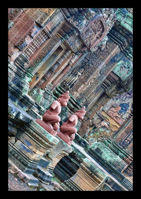 Ангкор Ват у Камбоджі - містичне та дивовижне по своїй атмосфері і масштабності місце (11)