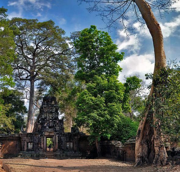 Ангкор Ват у Камбоджі - містичне та дивовижне по своїй атмосфері і масштабності місце (7)