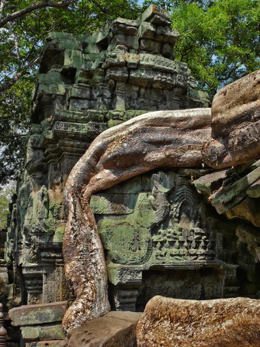 Ангкор Ват у Камбоджі - містичне та дивовижне по своїй атмосфері і масштабності місце (6)