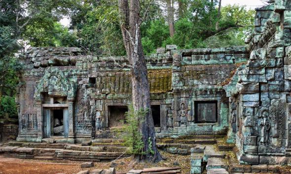 Ангкор Ват у Камбоджі - містичне та дивовижне по своїй атмосфері і масштабності місце (3)