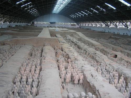 Теракотова армія імператора Цинь Шихуанді (11)