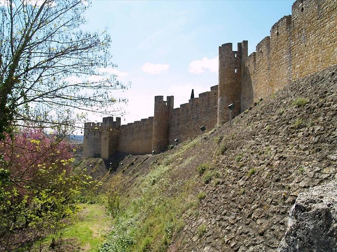 Красива фортеця Конвенту-де-Крішту - головна обитель португальських тамплієрів (13)