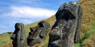 Острів Пасхи і загадкові кам'яні статуї Моаї (2)