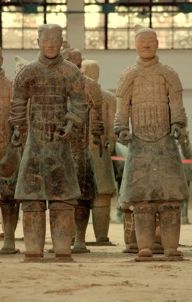 Теракотова армія імператора Цинь Шихуанді (5)