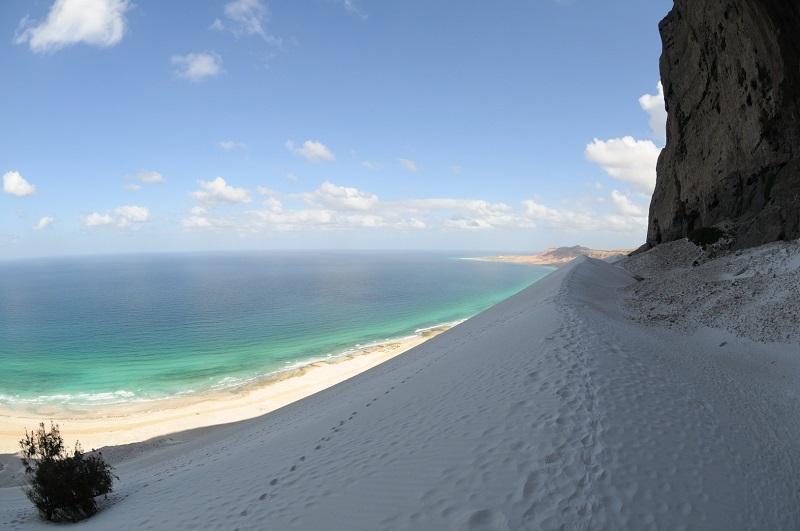 2-Пейзаж острова Сокотра