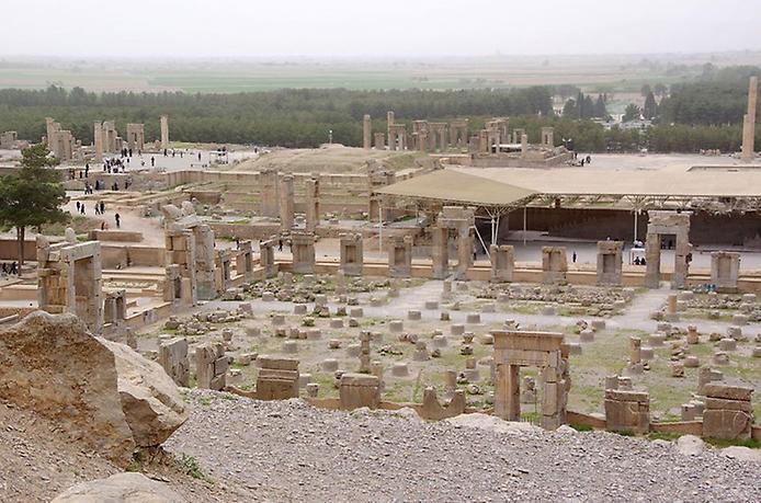 Стародавнє місто Персеполь - свідок перської могутності (11)