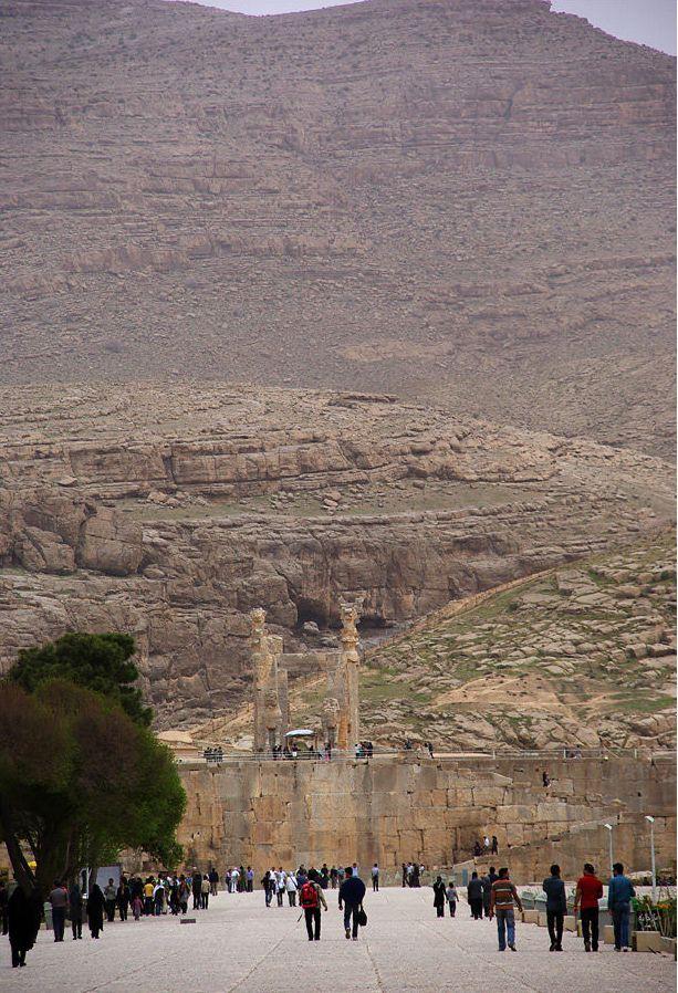 Стародавнє місто Персеполь - свідок перської могутності (9)