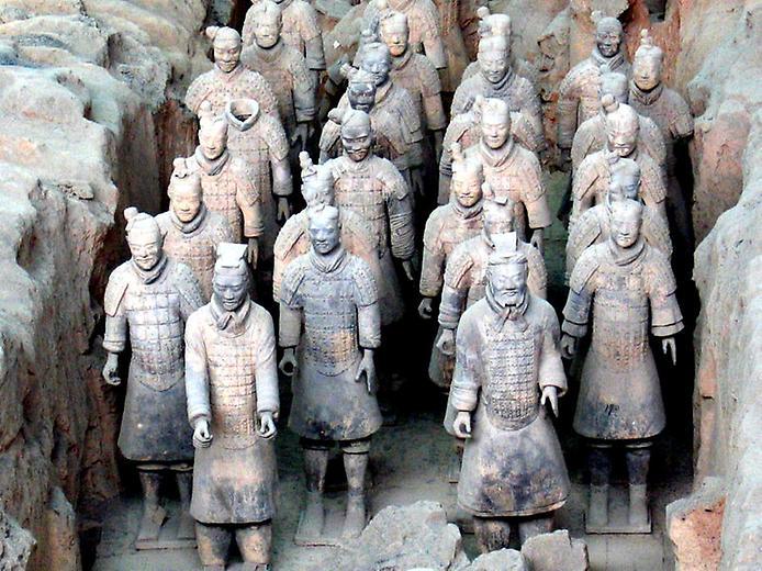 Теракотова армія імператора Цинь Шихуанді (9)