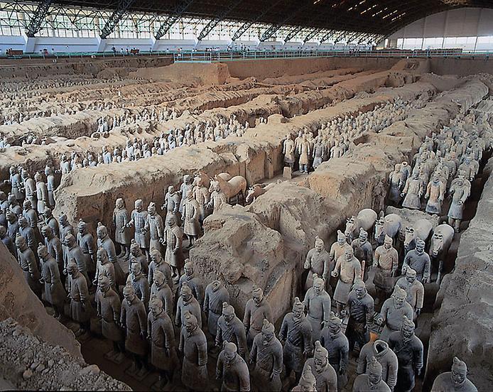 Теракотова армія імператора Цинь Шихуанді (1)