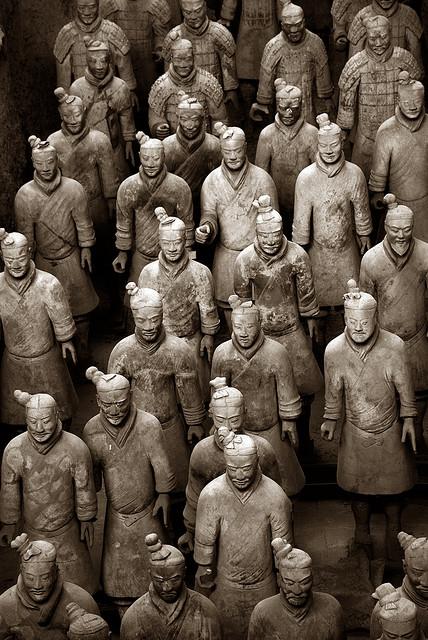Теракотова армія імператора Цинь Шихуанді (2)