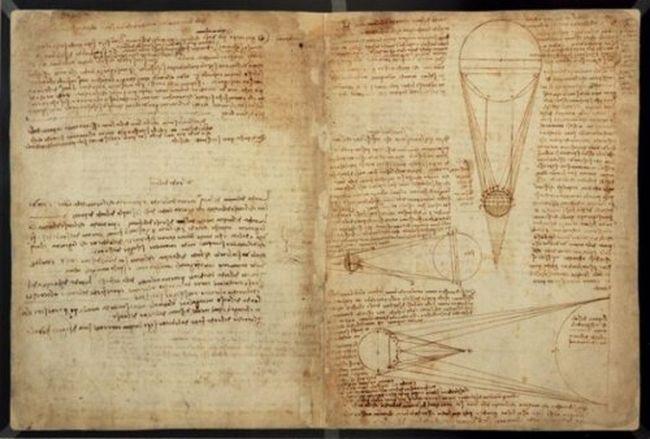 """Найдорожчі книги світу (""""Лестерський кодекс"""", Леонардо да Вінчі (The Codex Leicester, Leonardo da Vinci)) (1)"""