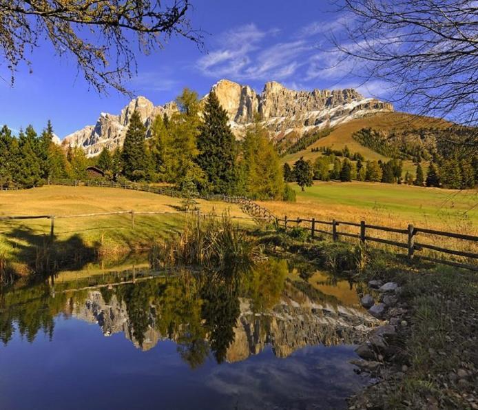 Доломітові Альпи - дивовижної краси 150-кілометровий гірський масив в Східних Альпах. Скарб Італії (7)