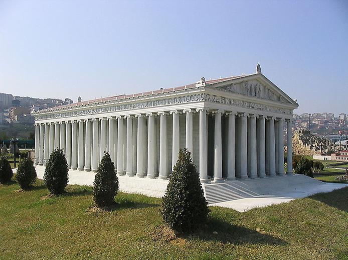 Храм Артеміди в Ефесі - шедевр античної архітектури, одне з 7 стародавніх чудес світу (8)