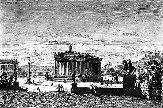 Храм Артеміди в Ефесі - шедевр античної архітектури, одне з 7 стародавніх чудес світу (4)