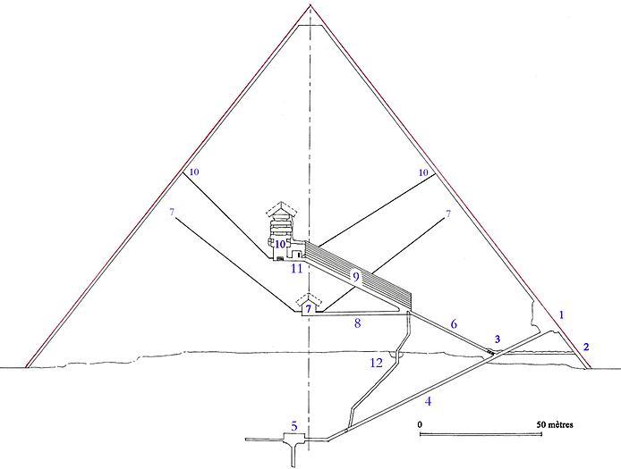 Піраміда Хеопса - найвеличніша піраміда Стародавнього Єгипту та світу (7)