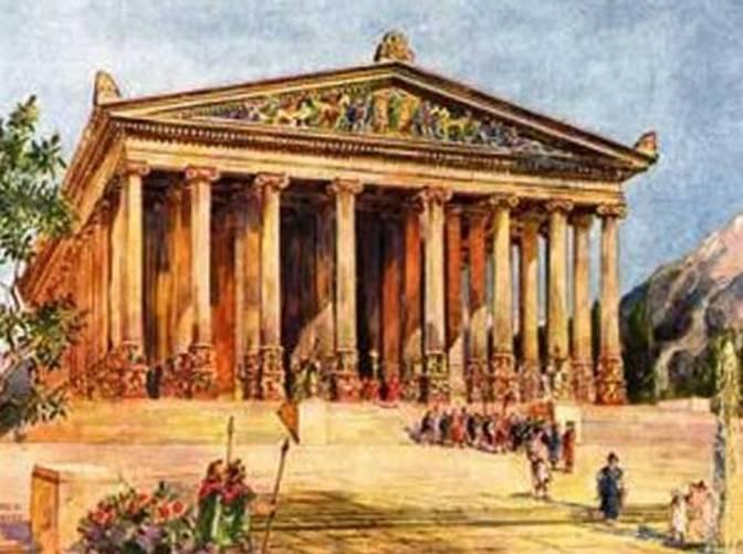 Храм Артеміди в Ефесі - шедевр античної архітектури, одне з 7 стародавніх чудес світу (3)