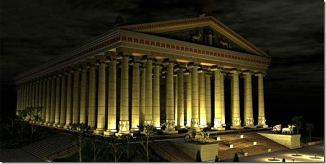 Храм Артеміди в Ефесі - шедевр античної архітектури, одне з 7 стародавніх чудес світу (2)