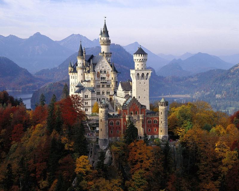 замок Нойшванштайн (1)