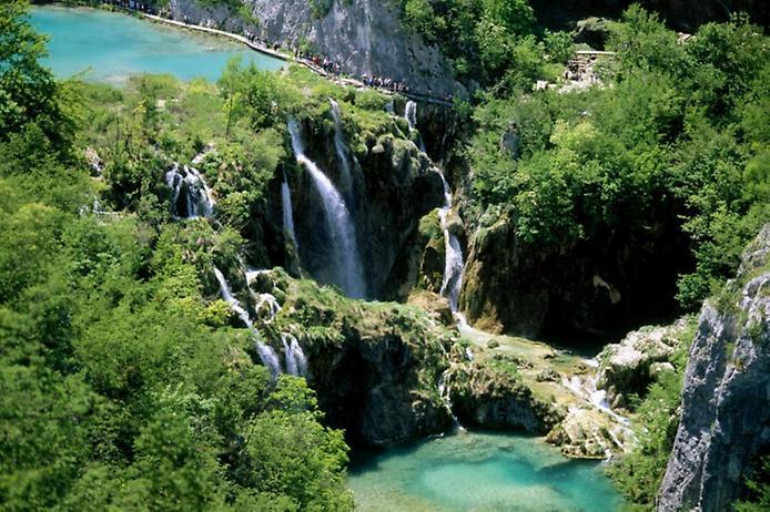 Плітвіцькі озера - Хорватське чудо природи (7)