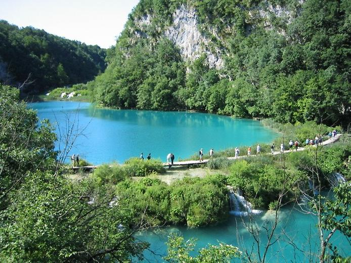 Плітвіцькі озера - Хорватське чудо природи (10)