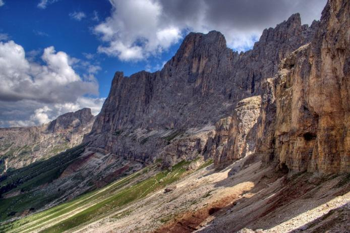 Доломітові Альпи - дивовижної краси 150-кілометровий гірський масив в Східних Альпах. Скарб Італії (2)