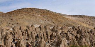 Кандован - дивне місто-термітник в Ірані (2)