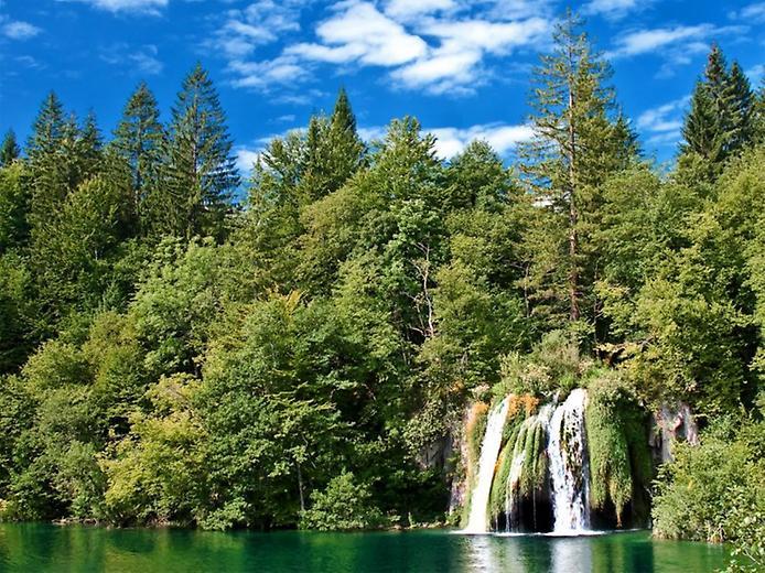 Плітвіцькі озера - Хорватське чудо природи (4)
