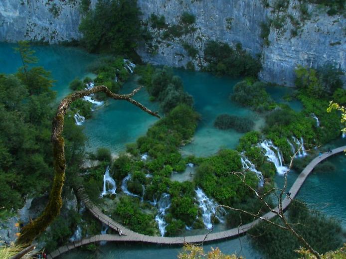 Плітвіцькі озера - Хорватське чудо природи (2)