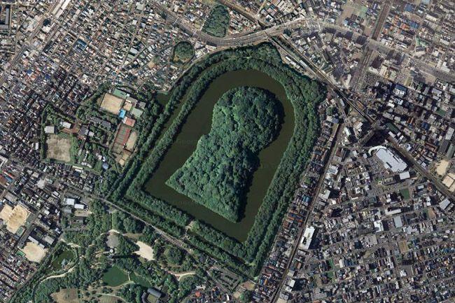 Курган в Осаці - найбільша гробниця в світі… (2)