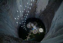 Соляна шахта в Турда. Нова печера Бетмена (9)