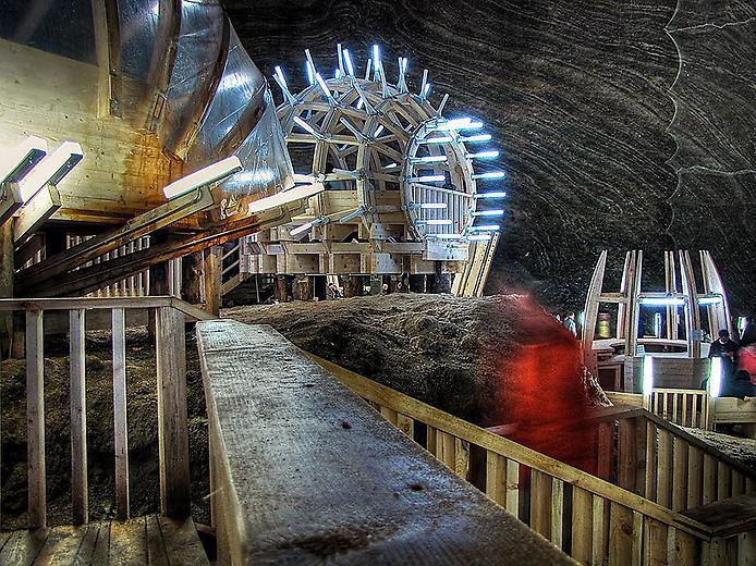 Соляна шахта в Турда. Нова печера Бетмена (1)