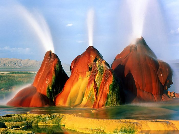 Філія Марса на Землі: пустеля Блек Рок в штаті Невада (1)