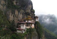 Чудова подорож в релігійні святині: Найвідоміші храми в Азії (Taktsang Dzong)
