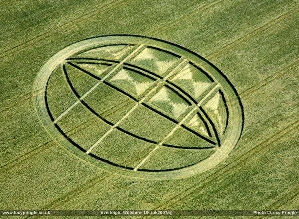 Англійський круг-глобус, 2007 рік