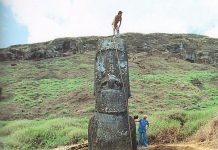 Розгадана таємниця статуй Моаї з острова Пасхи: у статуй є тіла. (2)