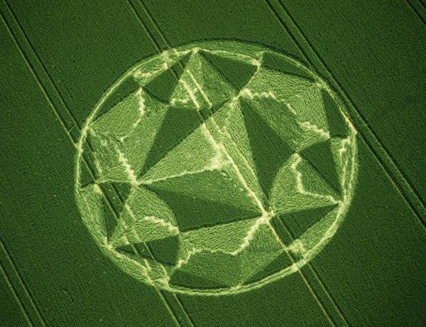 І ще один 3D-круг на полі. Англія, Уїлтшир