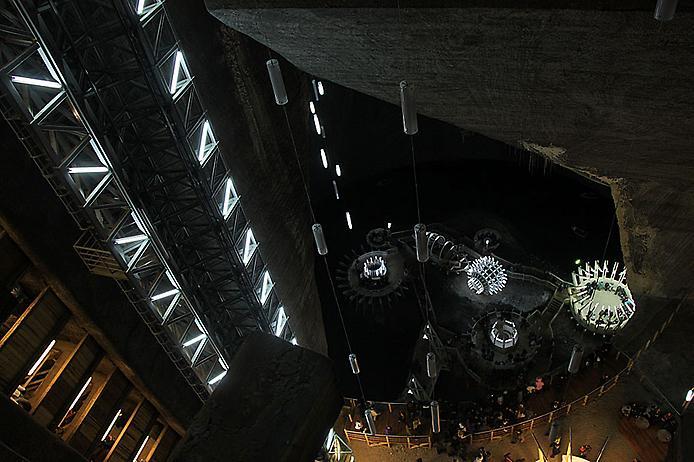 Соляна шахта в Турда. Нова печера Бетмена (7)