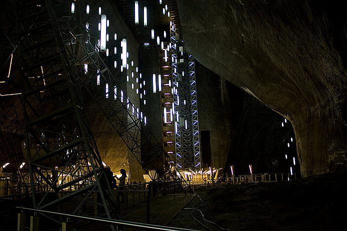 Соляна шахта в Турда. Нова печера Бетмена (6)