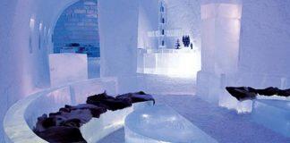 Королівство Снігової Королеви: незвичайний крижаний готель у Швеції (15)